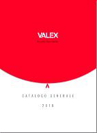 SFOGLIA IL CATALOGO GENERALE VALEX 2018