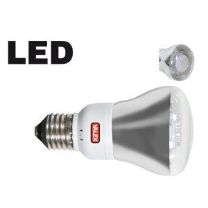 LAMPADINA A 80 LED RIFLETTORE 4W E27 LUCE CALDA