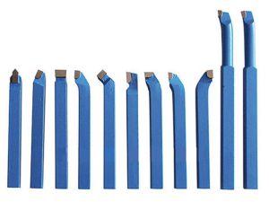 SERIE DA 11 UTENSILI BRASATI PER TORNIO 6 x 6 mm