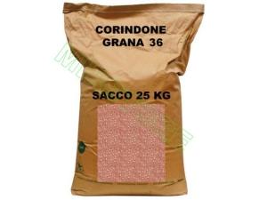 SACCO DA 25 KG DI CORINDONE GRANA 36 PER SABBIATRICE
