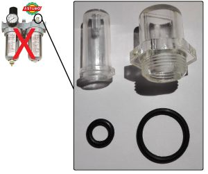 OIL SPRAY CUP DI RICAMBIO PER ASTURO AFRL80 - 3440080