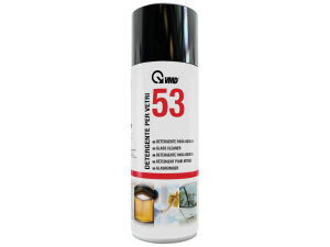 DETERGENTE PER VETRI  IN BOMBOLA SPRAY DA 400 ml