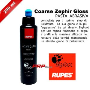 PASTE ABRASIVE BIG FOOT RUPES PER LUCIDATURA CARROZZERIA AUTO