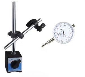 BASE MAGNETICA CON SUPPORTO SNODABILE + COMPARATORE 0 ÷ 10 mm