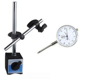 BASE MAGNETICA CON SUPPORTO SNODABILE + COMPARATORE 0 ÷ 30 mm