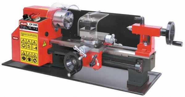 Tornio parallelo per metallo cx250 for Tornio da banco per metalli usato