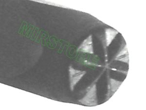 PUNZONE IMPRONTA ASTERISCO DA 4 mm