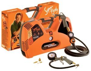 COMPRESSORE PORTATILE 2 LITRI SUPER BOXY 1,5 HP - 8 BAR CON ACCESSORI